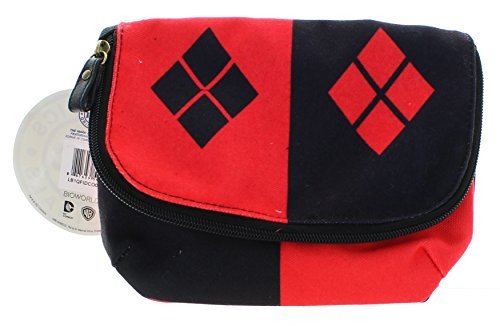 DC Comics Harley Quinn Mini Crossbody Bag]()