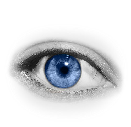 how to change your eye color to blue at home