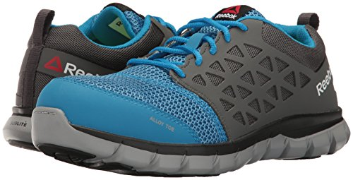 Blue RB044 11 Cushion 5 Sublite Shoe US and Work W Reebok Industrial Construction Grey Work wpzqxpIT