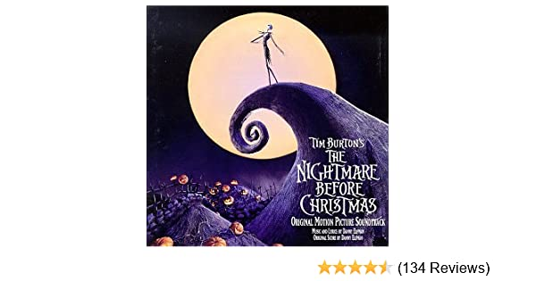 danny elfman the nightmare before christmas original motion picture soundtrack amazoncom music - Nightmare Before Christmas Runtime