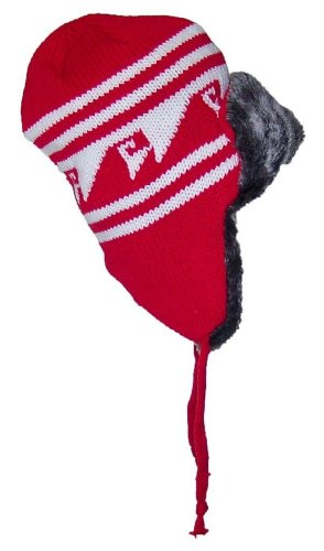 Adult Deluxe Pig Mask (Nochilla Unisex Diamond Visions Deluxe Bomber Fur Lined Hat One Size Red)