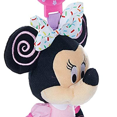 Disney Baby Minnie Mouse On The Go Pull Down Activity Toy : Plush Animal Toys : Baby