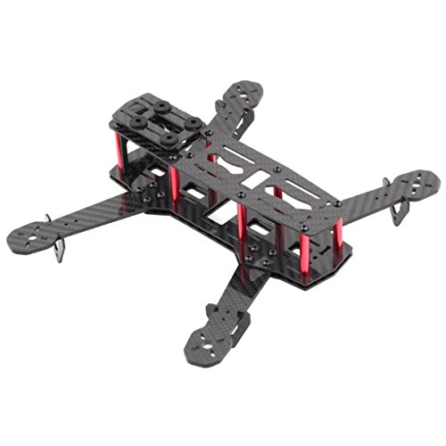 DIYmall Carbon Fiber Mini 250 FPV Quadcopter Frame Mini Quad Frame for 250 C250