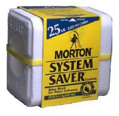 MORTON SALT 1617 25LB Salt Block