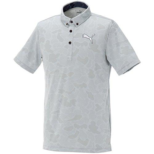 プーマ(プーマ) SS ジャカード BD ポロシャツ 923525-04 【17春夏】 (グレー/LL/Men's)