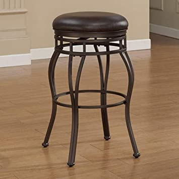 American Woodcrafters Villa Backless Counter Stool