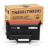TN850 TN880 for Brother TN-850 TN820 High Yield Toner (1 Pack) Compatible for Printer Brother MFC-L5900dw MFC-L6700dw MFC-L6800dw