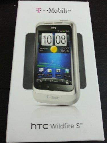 T-Mobile Prepaid - HTC Wildfire No-Contract SMARTPHONE - White
