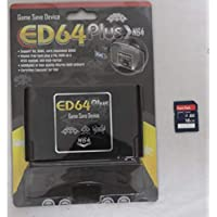 Free Delivery ED64 Plus Game Save Drive +16 GB sd card with full games