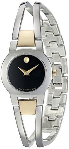 - Movado Women's Swiss Quartz Stainless Steel Casual Watch (Model: 0606893)