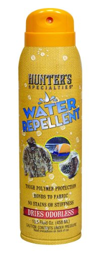 - Hunters Specialties 01122 Water Repellent Spray No Odor, 15.5-Ounce