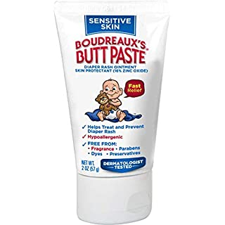 Boudreaux's Butt Paste Boudreaux's Butt Paste Diaper Rash Ointment, for Sensitive Skin, Hypoallergenic, 2 Oz, 2 Fl Oz