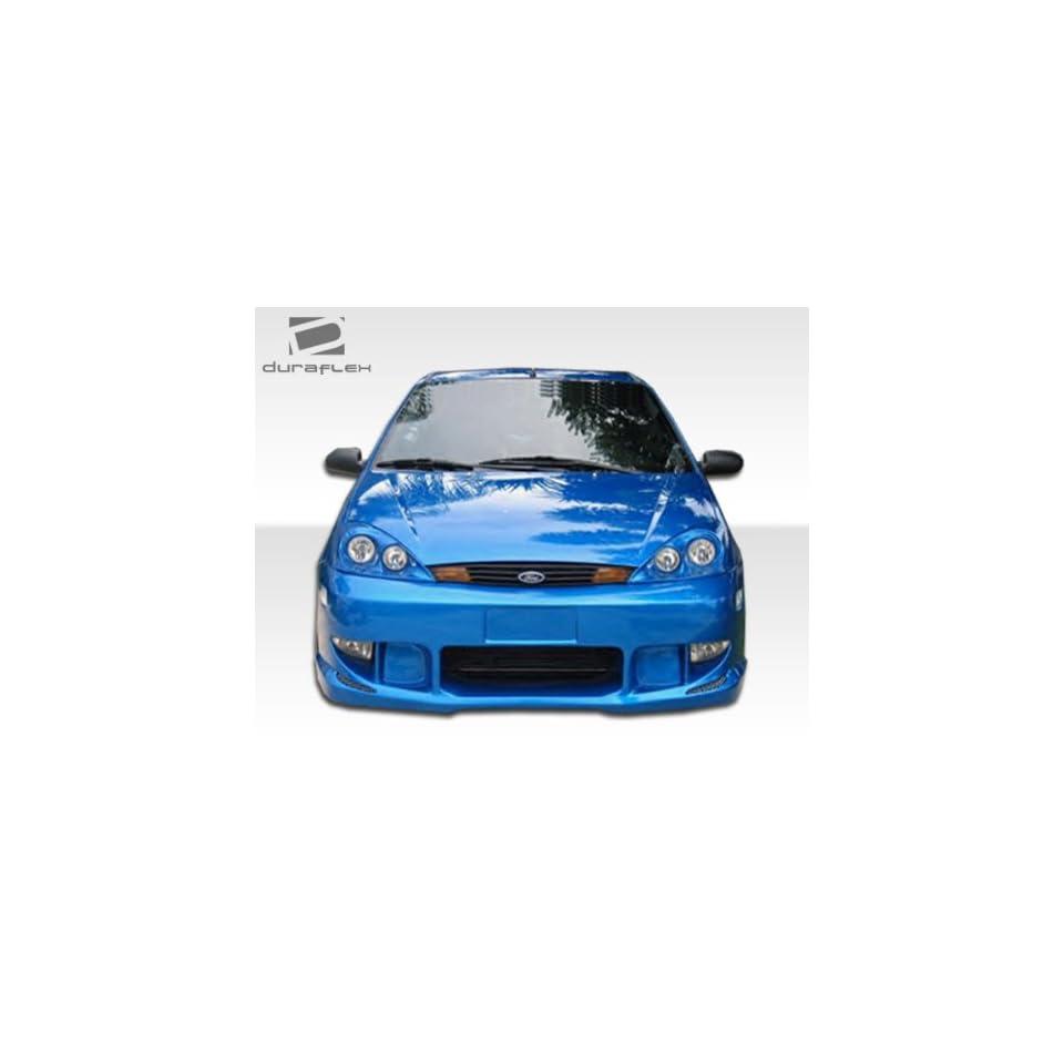 2000 2004 Ford Focus Duraflex Poison Front Bumper Cover   1 Piece