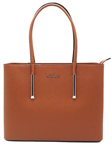 Flora&co, sac bandoulière femme Camel