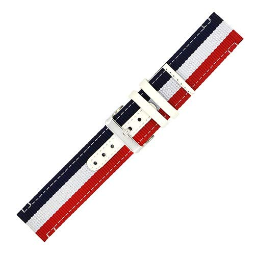 Jewh Creative Watch Band - Nylon NATO Watch Band 22mm for LG G Watch - Corlorful