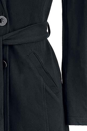 Forplay Mujer Mujer Abrigo Jersey Forplay Jersey Forplay Abrigo Negro Negro qCaaw7U