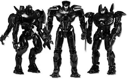Llsdls 18 CM Wanderer Guard War Modelo de Juguete Robot Negro ...