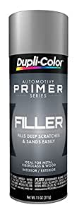 Dupli-Color FP101 Gray General Purpose Sandable Scratch Filler and Primer - 11 oz.