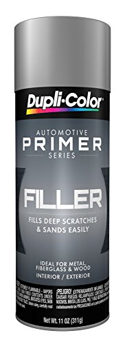 Dupli-Color EFP101007 Gray General Purpose Sandable Scratch Filler and Primer - 11 oz - Gray Acrylic Lacquer