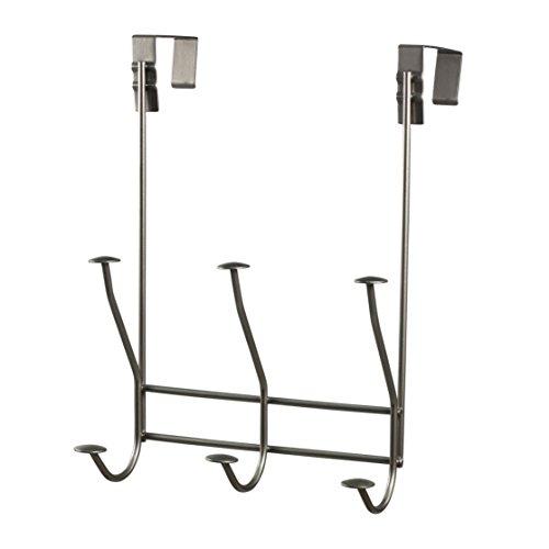 Toilet Windsor (Spectrum Diversified Windsor Over The Door 3-Hook Rack, Satin Nickel)