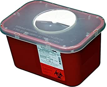 1 Gallon Size | OakRidge Products Sharps Disposal Container | Ideal for Diabetics Personal Size