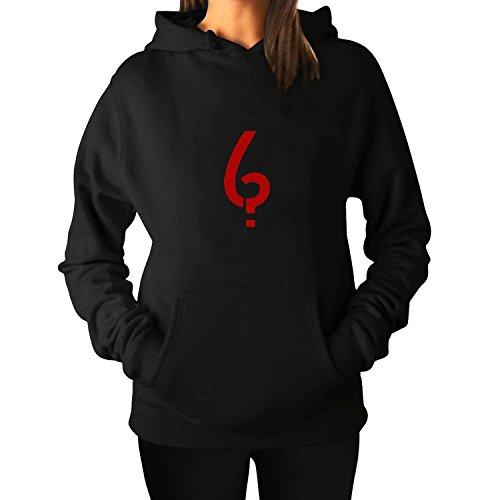 Women's American Horror Story Logo New Fleece Hoodie Black (Moira Ahs)