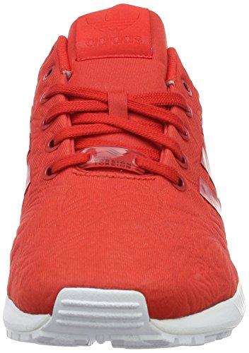 adidas Zx Flux, Zapatillas Unisex Adulto Rojo (Vivid Red/Vivid Red/Core Black)