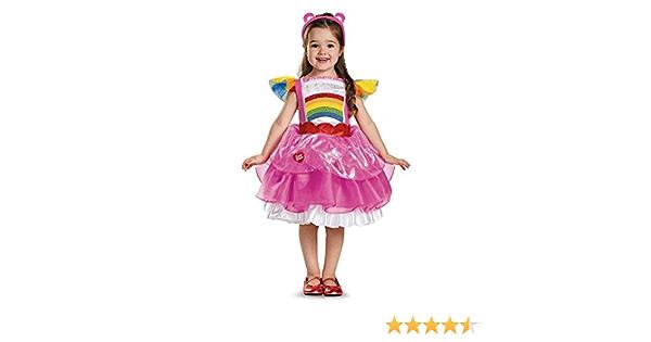 Little Girls Childrens Care Bears Cheer Costume