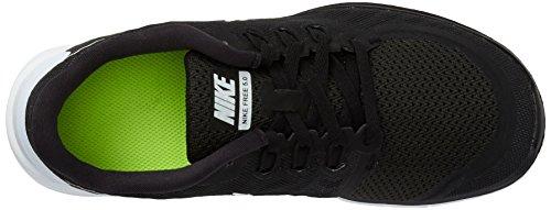 Nike Free 5.0 (GS) Zapatillas de running, Niños Negro (black/white/dark grey/cool grey)
