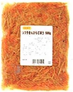 きんぴらごぼう 1袋(500g入り)【業務用】簡単調理で便利です。◇お得な配送設定あり(3袋(1.5kg)まで同梱可能)【常温便】