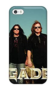 High Impact Dirt/shock Proof Case Cover For Iphone 5/5s (megadeth In The Wild)