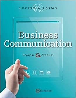 Business Communication: Process And Product (with Student Premium Website Printed Access Card) Book Pdf