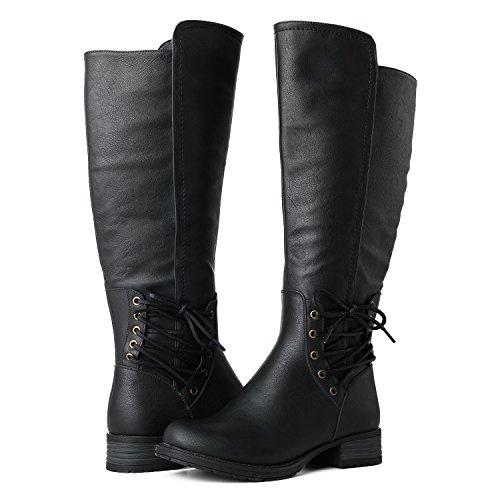 Globalwin Women's 17YY11 Fashion Boots 11black