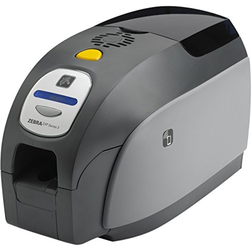 Zebra Technologies Z31-0M00C200US00 ZXP Series 3 Card Printer, Single-Sided, USB, Magnetic Encoder, Cardstudio Software, Webcam, and Media Starter Kit by Zebra Technologies