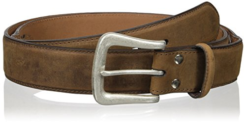 Nocona Belt Co. Men's Distressed Point Billet, Medium Brown, 44
