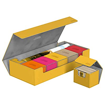 Ultimate Guard Superhive 550+ Amber: Toys & Games