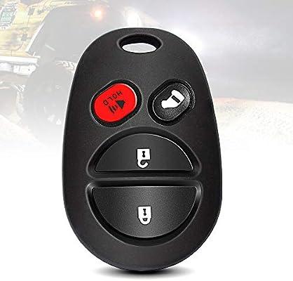 Amazon.com: TURBOSII Keyless Entry Remote Car Key Fob 4-button Replacement for 2005 2006 2007 2008 Toyota Avalon,2004 2005 2006 2007 2008 Toyota ...