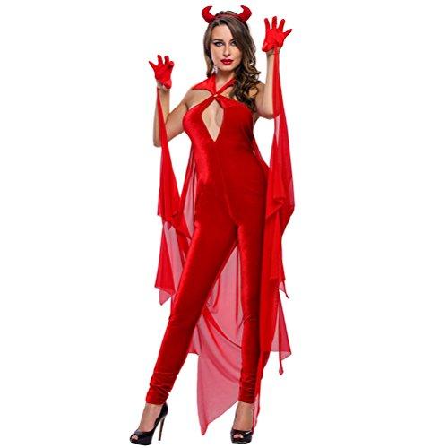 [Devilish Diva Costume(Size,S)] (Community Costumes Dance Type)