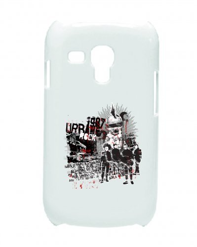"Smartphone Case Apple IPhone 6/ 6S ""1987 Urban Rock Music Rock n Roll Rocker Bike Auto Reise Travel Palmen 80er 90er"" Spass- Kult- Motiv Geschenkidee Ostern Weihnachten"