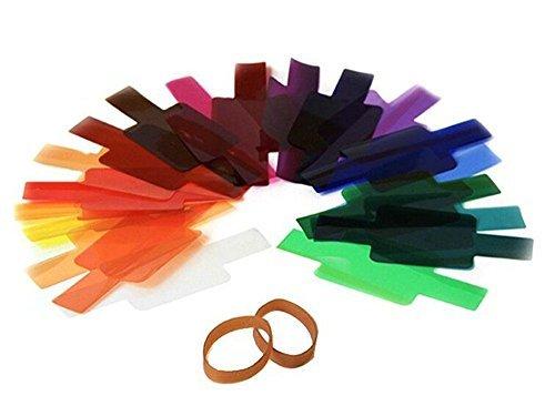 amazon com viltrox 20pc strobist flash color lighting gel pop up