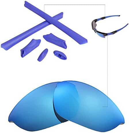 Walleva Replacement Lenses Or Lenses/Rubber for Oakley Half Jacket Sunglasses - 43 Options Available