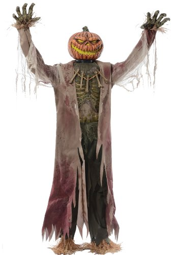 (THE CORN STALKER ANIMATED HALLOWEEN HAUNTED HOUSE PROP Scary Theme Party Creepy -)