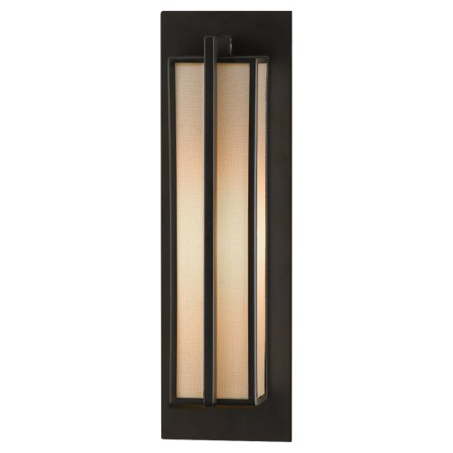 Feiss WB1460ORB 1-Bulb Wall Sconce, Oil Rubbed Bronze Finish