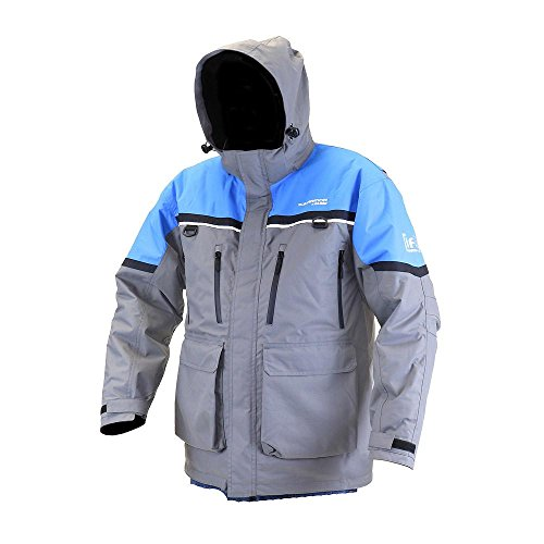 Ascent Jacket (CLAM IA Ascent Float Parka - XXLarge (XXL/CHARCOAL.BLUE.BLACK) 12068)