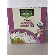 Seeds of Change Organic Aromatic Jasmine Rice (Pack of 6 Pouches)