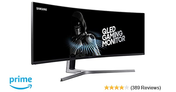 Best G Sync Monitor 2020.Samsung 49 Inch Chg90 144hz Curved Gaming Monitor Lc49hg90dmnxza Super Ultrawide Screen Qled Computer Monitor 3840 X 1080p Resolution 1ms