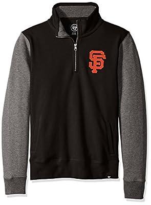 MLB Men's Triple Coverage 1/4-Zip Sweatshirt