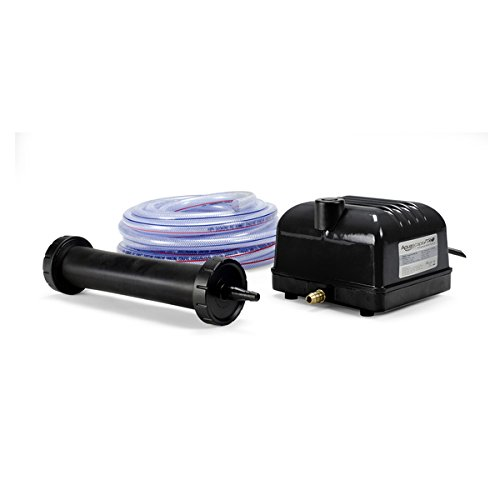 Aquascape Pro Air 20 Pond Aerator and Aeration Kit with Tubing and Self-Cleaning Diffuser, Out-door Rated  61009 by Aquascape