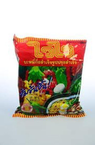[10 Packages Instant Noodles Wiwi Original Taste Very Delicious 55g.] (Milk Eggs Cheese Costume)