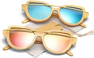 Gafas Gafas Mujer Gafas de Sol de Madera Moda Tendencia ...